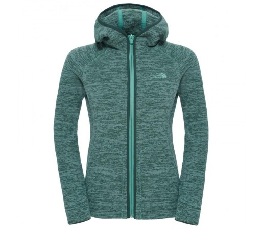 Hanorac The North Face W Nikster Full Zip Verde