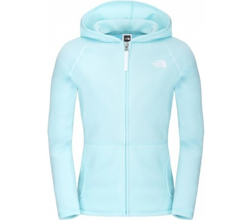 Polar The North Face G Glacier Full Zip Hoodie Albastru