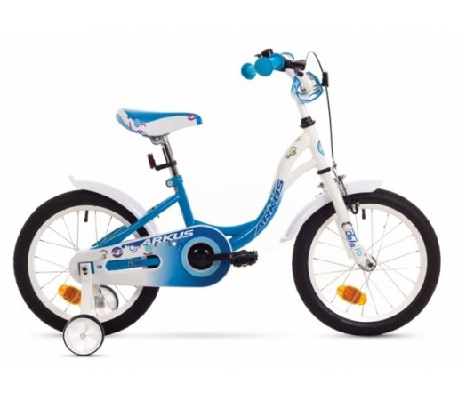 Bicicleta copii Arkus Tola 16 S Alb/Albastru 2016