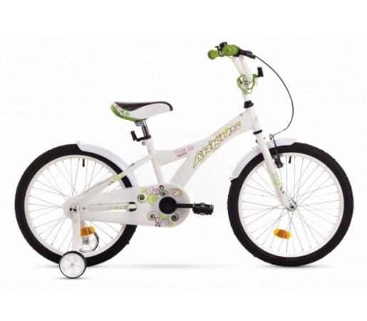 Bicicleta copii Arkus Tola 20 Alba 2016
