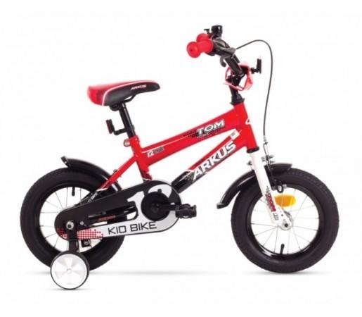 Bicicleta copii Arkus Tom 12 Negru/Rosu 2016