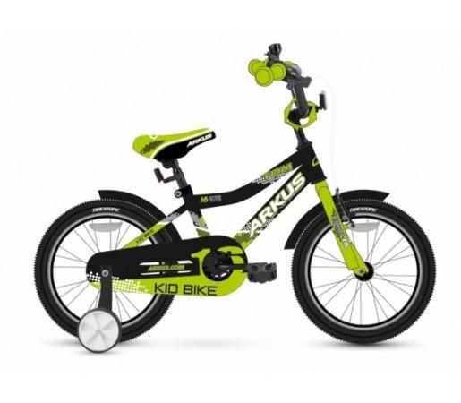 Bicicleta copii Arkus Tom 16 B Negru/Verde 2016