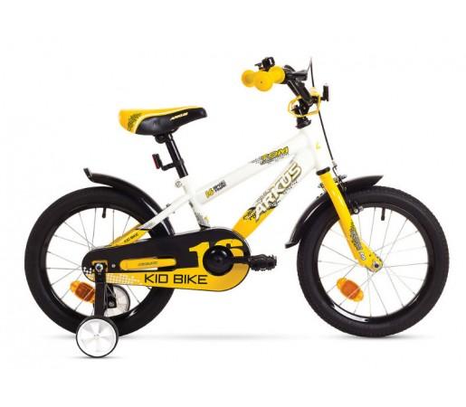 Bicicleta copii Arkus Tom 16 R Alb/Galben 2016