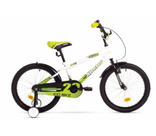 Bicicleta copii Arkus Tom 20 Alb/Verde 2016