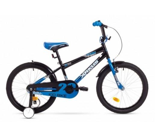 Bicicleta copii Arkus Tom 20 Negru/Albastru 2016