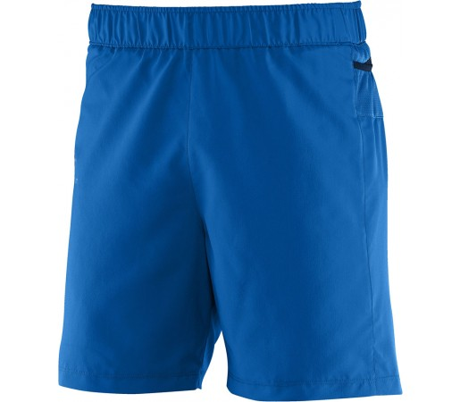 Pantaloni scurti Salomon Trail Runner M Albastri