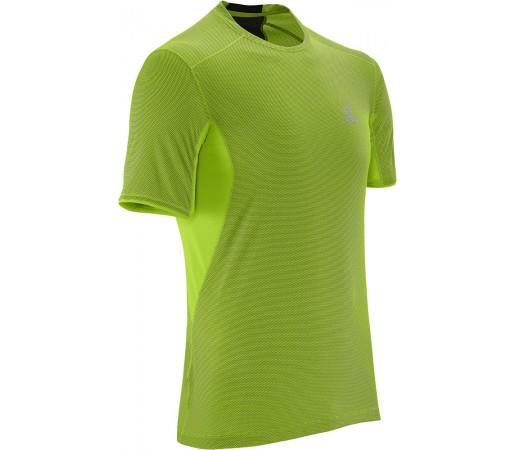 Tricou Salomon Trail Runner SS Tee M Verde