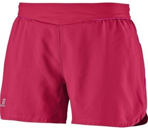 Pantaloni Salomon Trail Short W Rosu