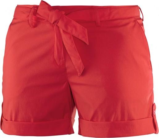 Pantaloni scurti Salomon Traveler Short W Rosii