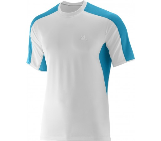 Tricou Salomon Trail Runner Tee M Alb