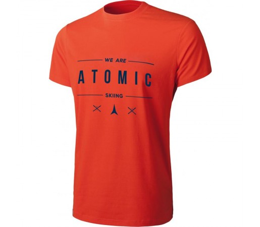 Tricou Atomic M Alps Star Rosu