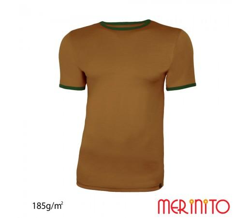 Tricou Barbati Merinito Olive/ Verde