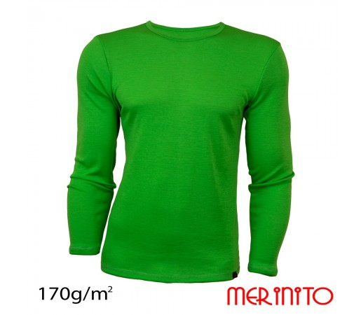Bluza First Layer Barbati Merinito Verde