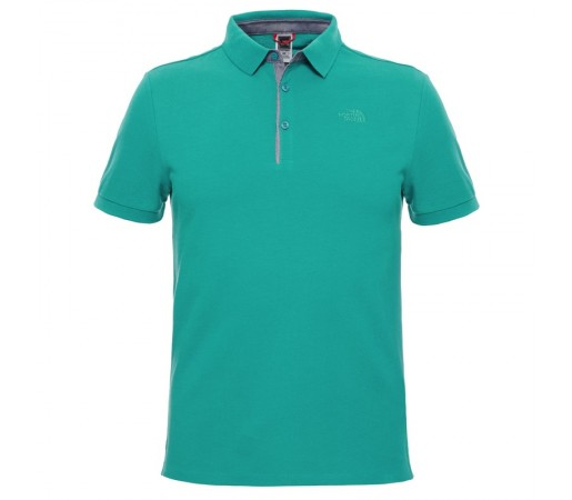 Tricou The North Face M Premium Polo Piquet Verde