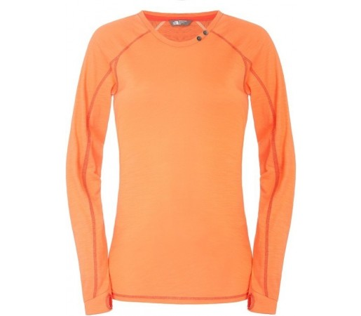 Bluza Tricou The North Face W Anaveite L/S Portocaliu