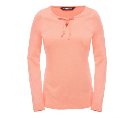 Bluza The North Face W Dayspring L/S Portocaliu