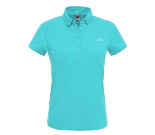 Tricou The North Face W S/S Polo Albastru