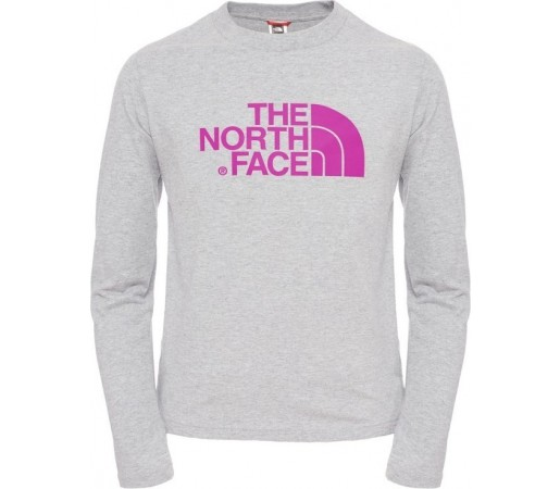 Bluza The North Face Y L/S Easy Gri