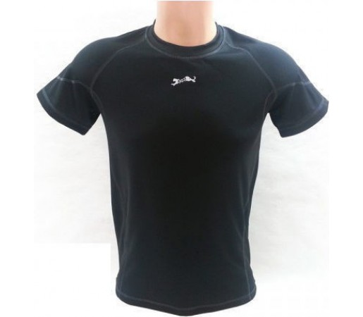 Tricou Bars Coolmax Black