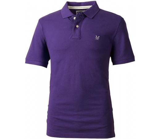 Tricou Crew Clothing Classic Polo Plum