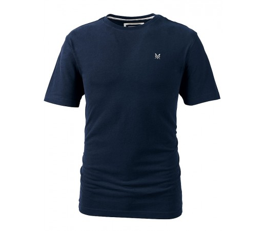 Tricou Crew Clothing Classic Tee Albastru Inchis