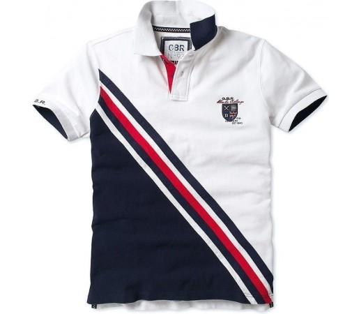 Tricou Crew Clothing GBR Sport Polo White
