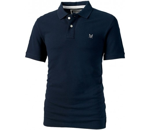 Tricou Crew Clothing Heritage Polo Navy