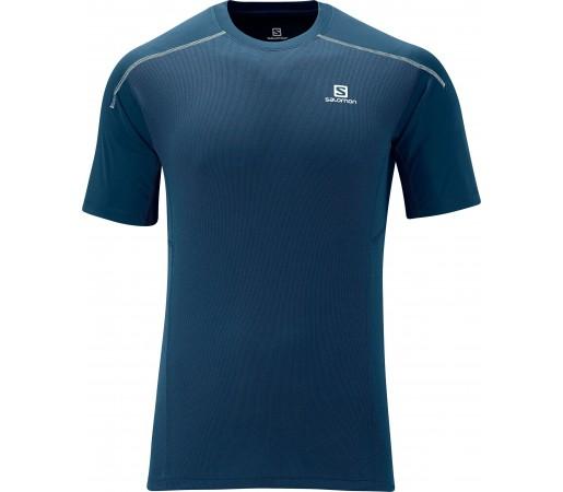 Tricou Salomon Apogee Ss Tee M Blue