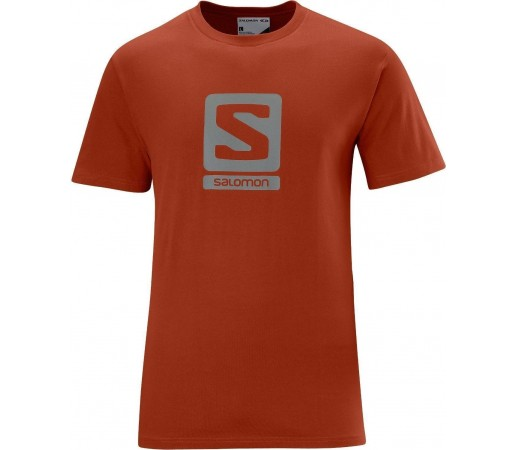 Tricou Salomon Poly Logo Tee M Orange 2013