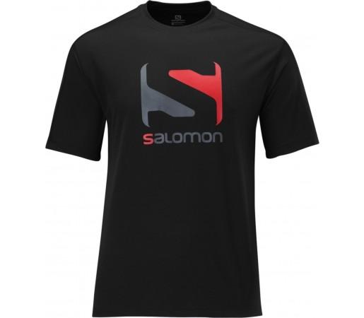 Tricou Salomon LOGO TEE M Black