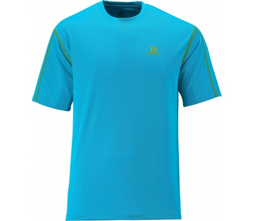 Tricou Salomon Moto Tech Tee M Blue