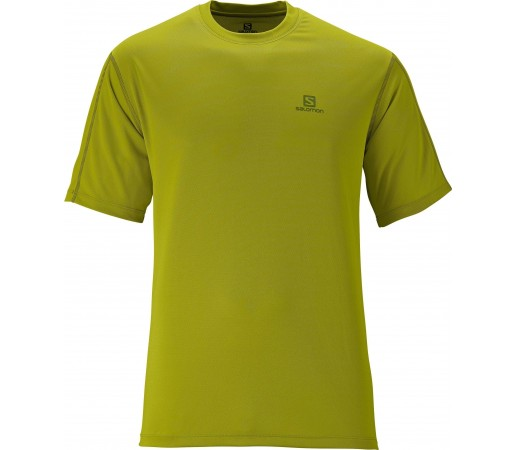 Tricou Salomon Moto Tech Tee M Green