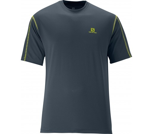 Tricou Salomon Moto Tech Tee M Grey
