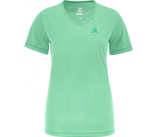 Tricou Salomon Moto Tech Tee W Green