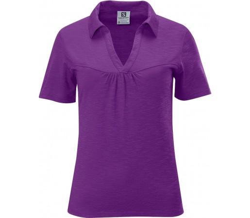 Tricou Salomon Mountain Polo W Purple  2013
