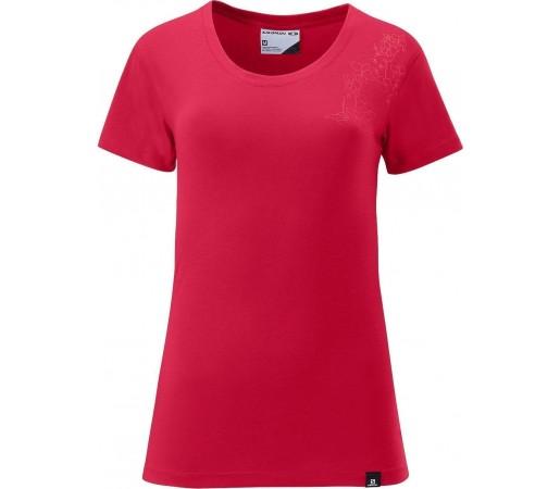 Tricou Salomon Poly Logo Tee W Red 2013