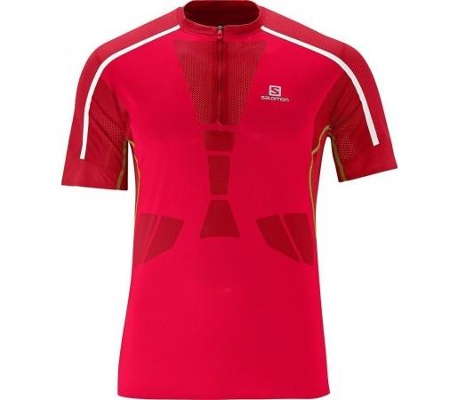 Tricou Salomon Sky Tee M Red