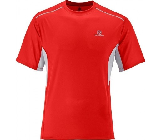Tricou Salomon Start Tee M Red