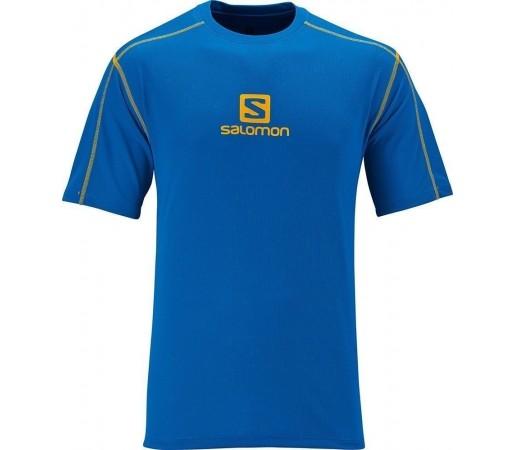 Tricou Salomon Stroll Logo Tee M Blue