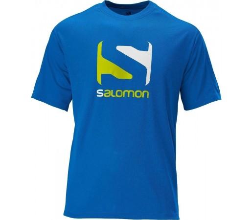Tricou Salomon Stroll Logo Tee M Blue 2013
