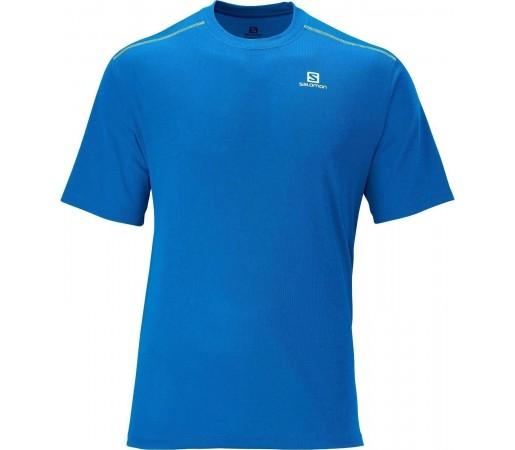 Tricou Salomon Stroll Tee M Blue 2013