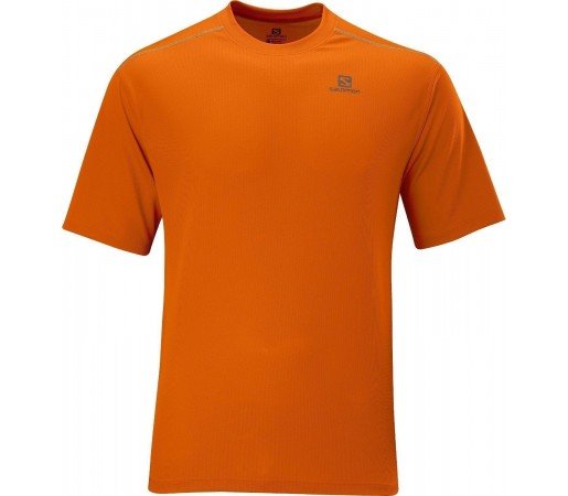 Tricou Salomon Stroll Tee M Orange 2013