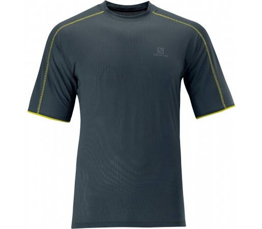 Tricou Salomon Trail Runner Tee M Grey 2013