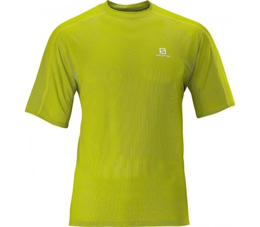 Tricou Salomon Trail Runner Tee M Lime 2013