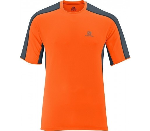 Tricou Salomon Trail Runner Tee M Orange