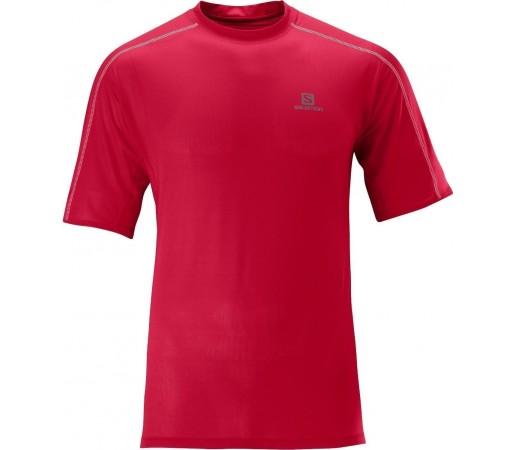 Tricou Salomon Trail Runner Tee M Red 2013