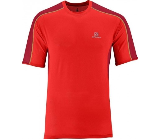 Tricou Salomon Trail Runner Tee M Red
