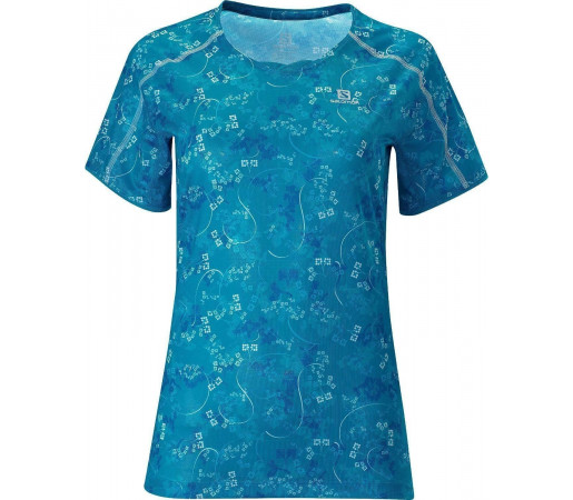 Tricou Salomon Trail Runner Tee W Blue 2013