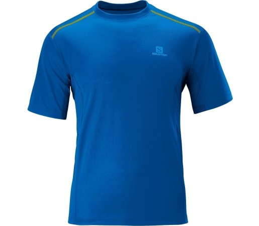 Tricou Salomon Trail Tee M Blue 2013