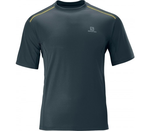 Tricou Salomon Trail Tee M Grey 2013